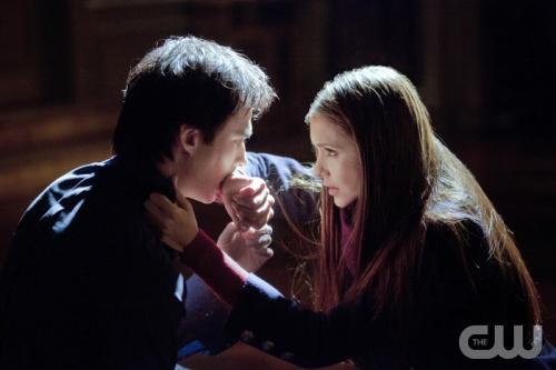 Damon i Elena - Pamiętniki Wampirów